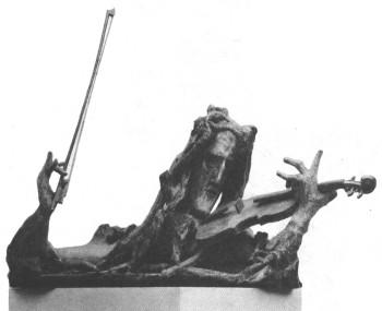 Паганини скульптура с т коненкова